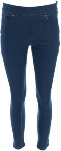 Martha Stewart Petite Knit Denim Ankle Jeans Dark Indigo 16P NEW A351437