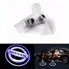 2X Auto LED 3D GHOST Logo Laser Proiettore Porta Sotto Puddle Luci For Nissan