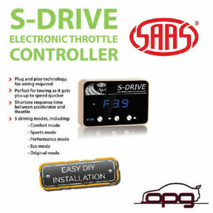SAAS Pedal Box S Drive Electronic Throttle Controller for VF HSV Clubsport R8