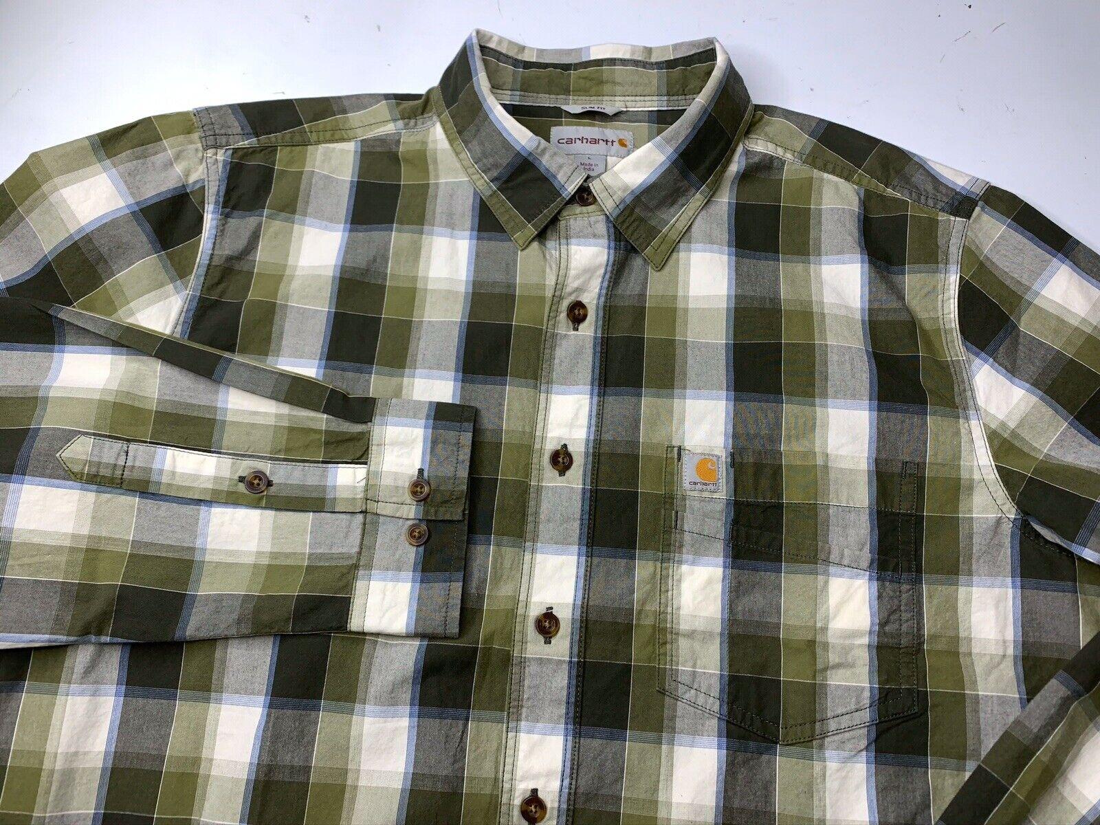 Carhartt Shirt Plaid Slim Fit 103190