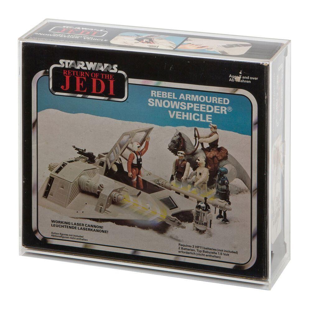 Acryl - schaukasten - boxen vintage - star wars snowspeeder (gw acryl avc-006)