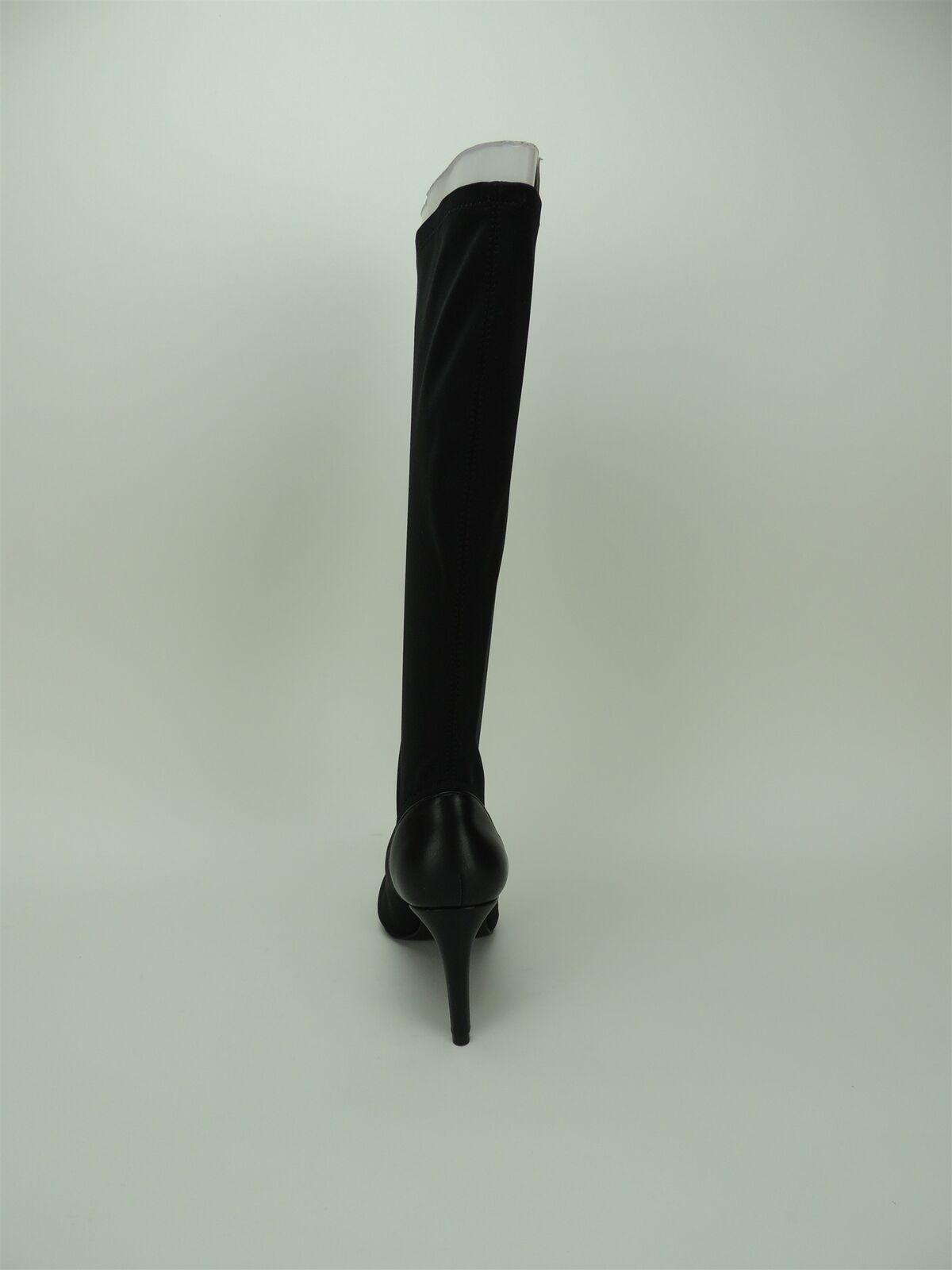 Charles por Charles Superestrella David para mujer botas Elástico Alto Superestrella Charles Negro Talla 5 M a34dfb