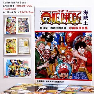 Image Is Loading Collection Artbook One Piece Art Book Anime Manga