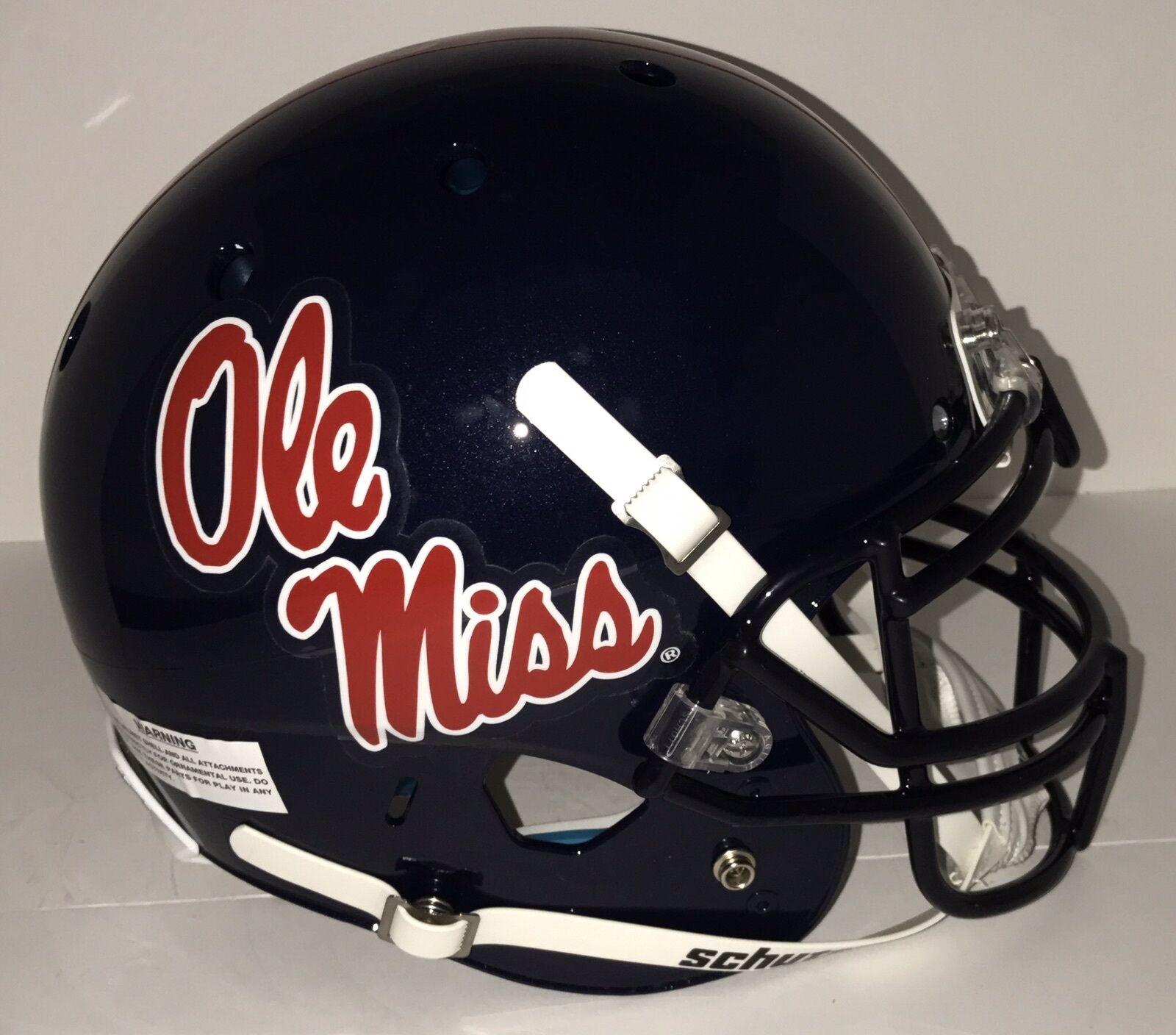 NCAA Ole Miss Rebels Schutt AUTHENTIC Full size Football Helmet