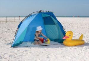 Image is loading New-ABO-Gear-Rapido-Cabana-Portable-Beach-Shelter- & New! ABO Gear Rapido Cabana. Portable Beach Shelter. Pop Up Sun ...