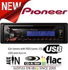Pioneer Deh 1900ubb AUTORADIO SISTEMA CON RDS REGOLAZIONE CD usb&aux-in 1YR
