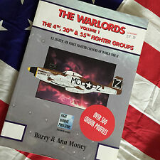 WARLORDS 4th 20th 55th FIGHTER GROUP 8th AF Fighter Colors P-51 P-47 P-38 Book