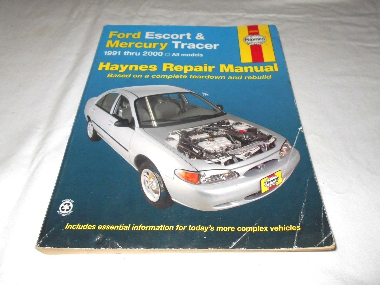 Ford ESCORT & Mercury Tracer All Models 1991 Thru 2000 Haynes Repair Manual  | eBay