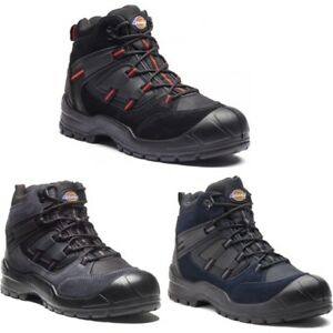Dickies-Mens-Everyday-Safety-Work-Boots-Size-UK-3-14-Steel-Toe-Cap-Boot-FA24-7B