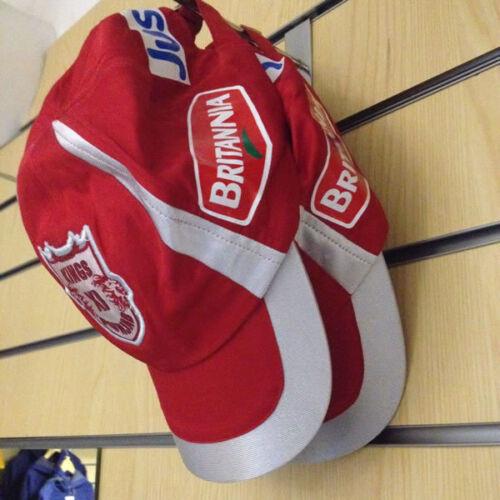 *NEW* OFFICIAL KING/'S XI PUNJAB KXIP INDIAN PREMIER LEAGUE IPL CRICKET CAP