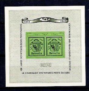 SWITZERLAND-1943-SOUVENIR-SHEET-10-MNH-IN-VERY-FINE-CONDITIONS-CV-75-EURO