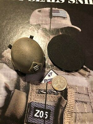 FLAGSET US Army Delta Force FS-73005 Mich 2002 Helmet loose 1//6th scale