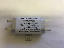 Nuevo Lee Belling Monofásica Emi Filtro sf4130-1 / 02 250vac 1a 50 Hz