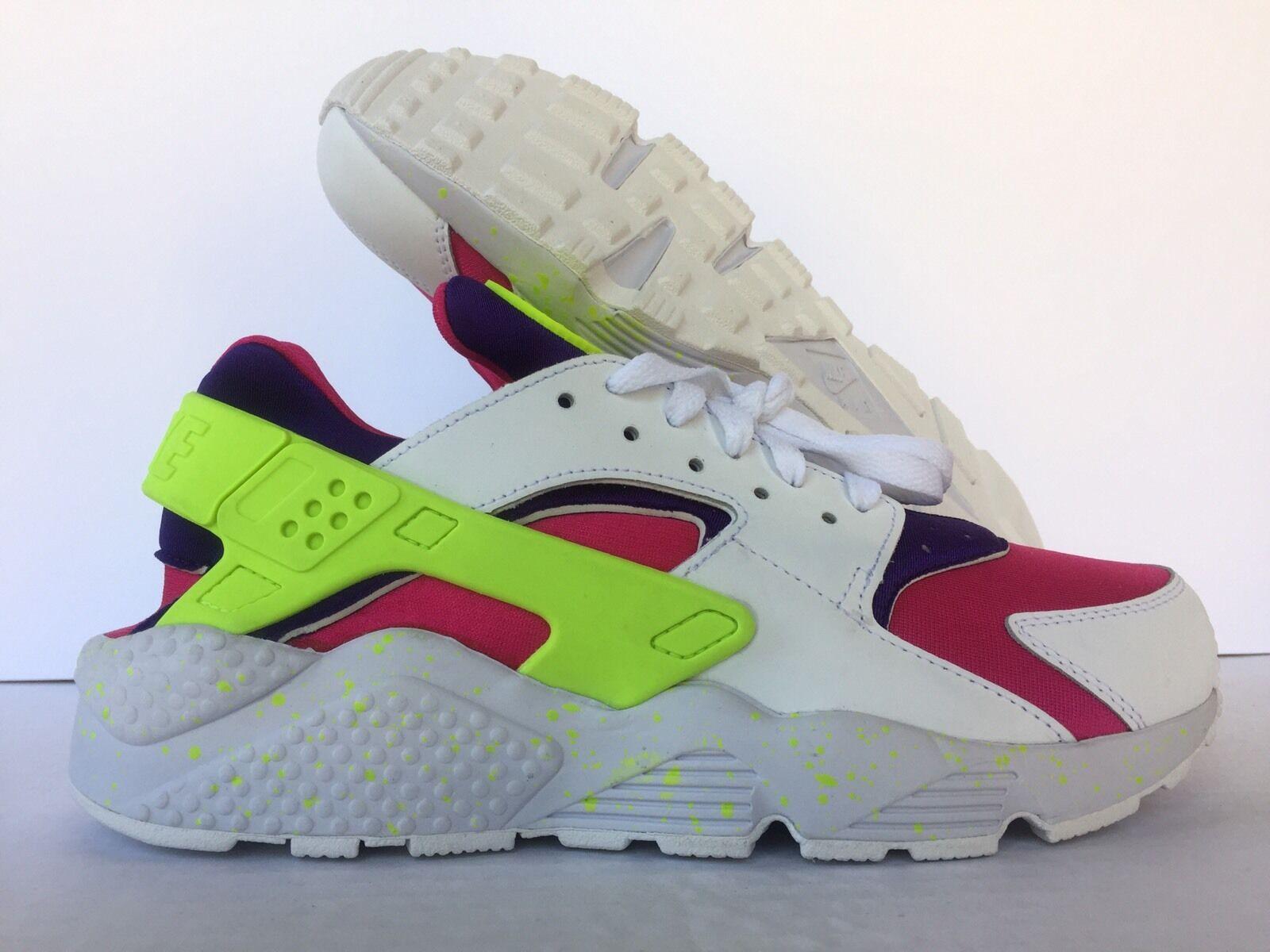 NIKE Uomo bianca/ AIR HUARACHE Nike iD bianca/ Uomo verde-Pink-Purple [777330-972] SZ US Uomo 9 75e6b8