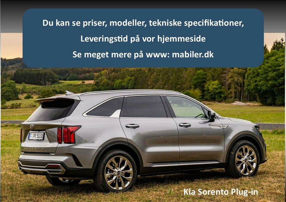 Kia Sorento 1,6 PHEV Prestige aut. 4WD Benzin 4x4 4x4 aut.