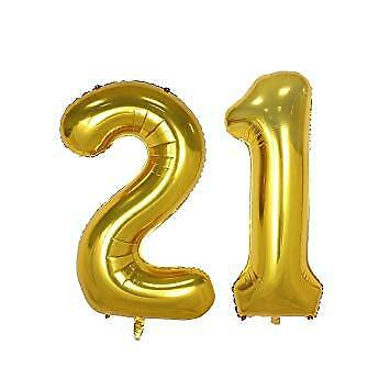 "16/"" Foil Numbers Balloons Self inflating Happy Birthday Foil Banners Baloons"