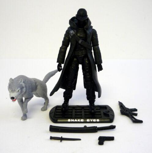 GI JOE SNAKE EYES Rise of Cobra Action Figure COMPLETE C9 v44 2009
