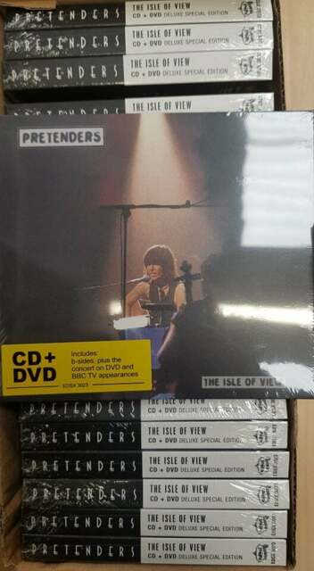 The Pretenders - The Isle of View (Job Lot Wholesale x20) New & Sealed CD+DVD