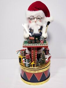 Bombay-2006-Exclusive-Nutcracker-Collection-Music-Box-034-Jolly-Old-St-Nichola-034
