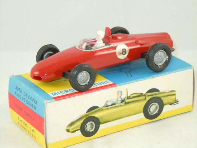 Ferrari Formula 1 racing car van POLITOYS 57  RARE Skip PROMOTIONAL MODEL