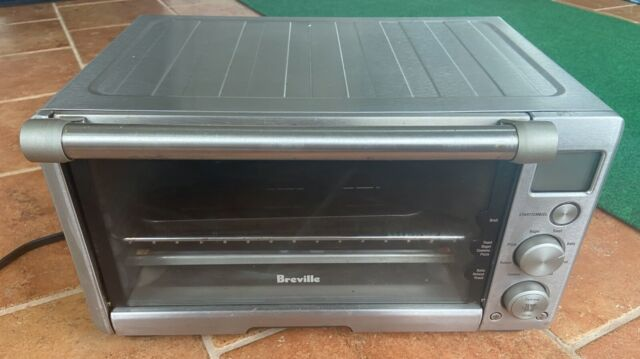 Breville Compact Smart Toaster Oven Countertop Stainless