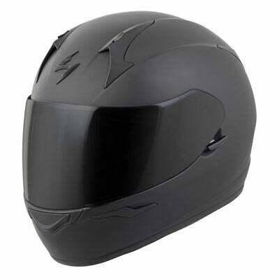 Scorpion EXO-R320 Full Face Motorcycle Street Helmet Matte Black Medium 75-1141M