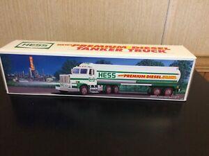 1993 Hess Toy camion Diesel TANKER frais de Cas Avec de légères Box question-afficher le titre d`origine qsomFwcm-09091103-212268146