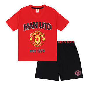 079c159657 Image is loading Manchester-United-FC-Official-Football-Gift-Mens-Short-