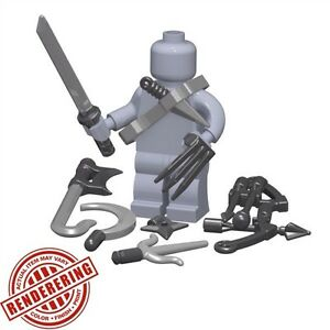 Brickforge-NINJA-ASSASSIN-Accessory-Pack-for-Lego-Minifigures-Assasin-039-s-Creed
