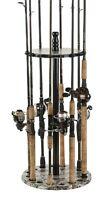 Fishing Rods Racks Fishing Rod Holder Standing Floor Round Pole Garage Storage