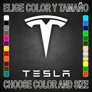 PEGATINA-TESLA-vinilo-coche-autocollant-aufkleber-adesivi-sticker-auto-vinyl-car