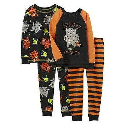 Just One You™ Made by Carter's&#174 Toddler Boys' 4-Piece Mix & Match Pajamas