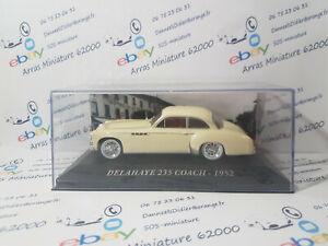 Delahaye-235-Coach-1952-1-43-eme-boite-plexi-neuf