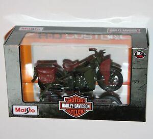 Maisto-Harley-Davidson-1942-WLA-FLAT-HEAD-Model-Scale-1-18