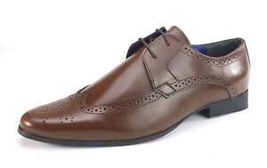 Pointus Frank James Richelieu Cuir Homme Coupe Chaussures Laçage Harlow Large wn17F7Zqg