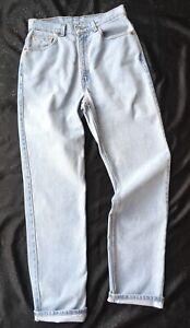 20536416edc Vtg USA Levis 512 Jeans Womens Size 10 L 28x33 Slim Fit Straight Leg ...