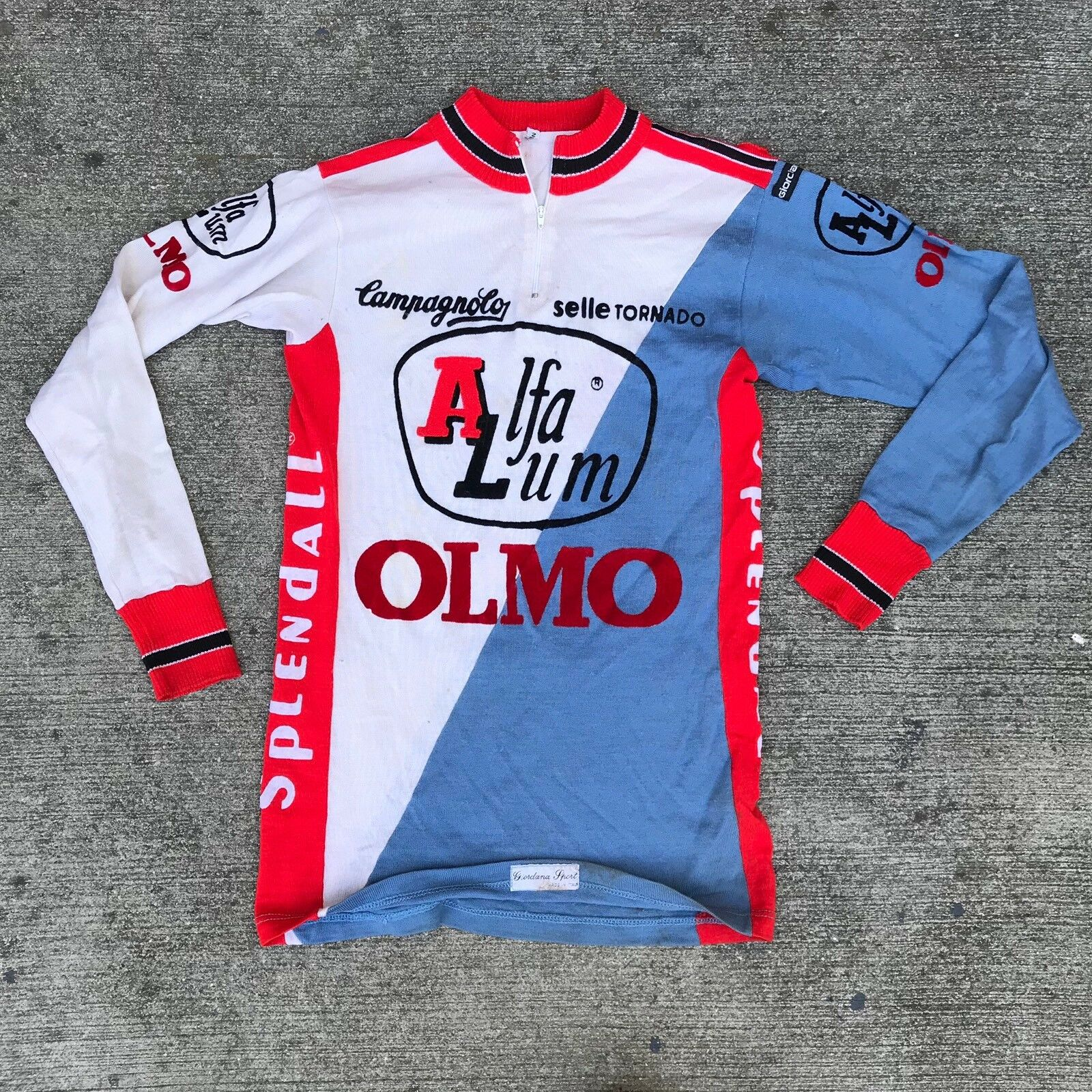 CAMPAGNOLO Alfa Lum Olmo Spendall Selle Tornado Jersey  Cycling Shirt  100% brand new with original quality