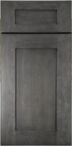 Rustic Shaker Grey Kitchen Cabinets Sample Door Rta All Wood In Stock Ebay