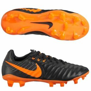 reputable site 0efed a5559 Details about Nike Jr Tiempo Legend 7 Elite FG Soccer Football Cleats Sz 5  Youth Black Orange