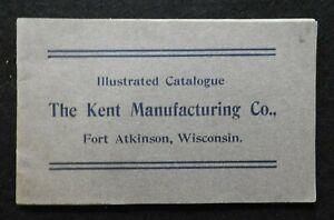 1905-1912-Kent-Produzione-Co-Fort-Atkinson-Wi-Latteria-Fattoria-Bestiame-Stalla