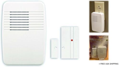 Brand New /& Open Box Heath Zenith SL-7368-02 Wireless Entry Alert Chime