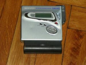 Very-Rare-Sharp-IM-MT899-Portable-MiniDisc-Player-support-USB-WORKING-TESTED