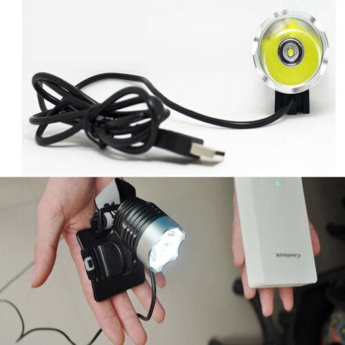 8000LM Cree XML T6 LED Scheinwerfer Fahrrad Licht USB vorderes Licht Lampe