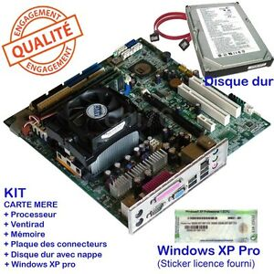 Kit-carte-mere-socket-939-CPU-AMD-Athlon-3500-RAM-2Go-disque-dur-80GO-XP-pro-N3U