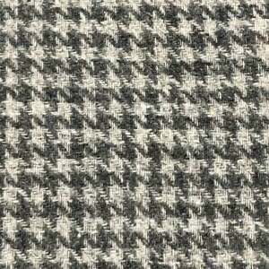 Vtg-Houndstooth-Wool-Blend-Fabric-Lightweight-Gray-White-Suiting-84-034-X-58-034