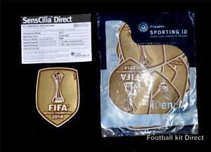 Real Madrid Fifa Club World Cup 2014 Winner Football Shirt Patch ... 145bd34a7