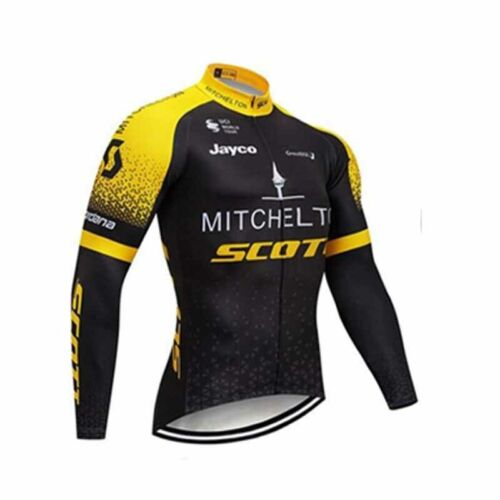 Breathable Cycling Jerseys Bike Clothing MTB Long sleeve shirt bib pants Set Y96