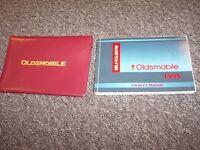 1995 Oldsmobile Silhouette Van Original Owner Owner's User Guide Manual Set
