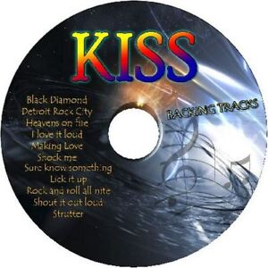 KISS-GUITAR-BACKING-TRACKS-CD-BEST-OF-GREATEST-HITS-MUSIC-PLAY-ALONG-MP-ROCK