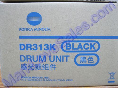 A7U4-0RD A7U40RD DR313K Konica Minolta C//258//308//368//458//558//658 Black Drum Unit